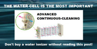 The Water Ionizer Water Cell is the Most Important