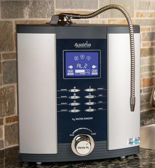 AlkaViva 9-Plate Vesta H2 Water Ionizer