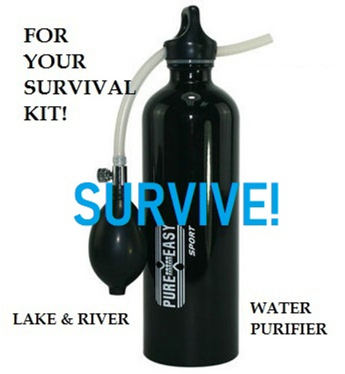 SURVIVE! Portable Water Purifier