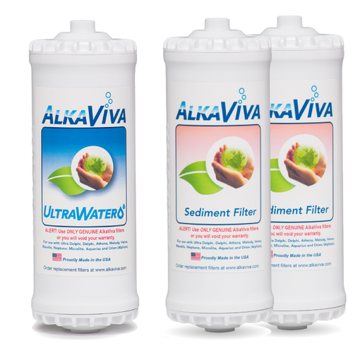 Classic Athena UltraWater & Sediment Filter Set