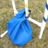 Agility equipment weight bag for agility jumps, teeters and tires.