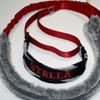 Custom martingale dog collar and tug leash.