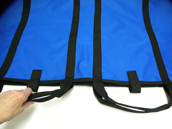 XLarge has four straps, four handholds.