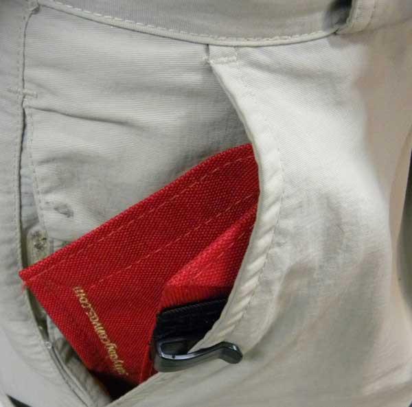 Pants pocket liner - Jeans Mens fit the deeper men's pockets.