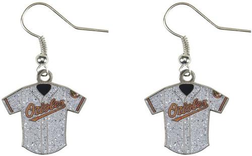 MLB Baseball Team Logo Womens Ladies Glitter Jersey Earrings Pick Your Team