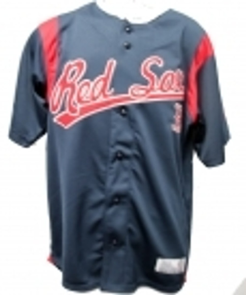 MLB Boston Red Sox Baseball Jersey Stitched Lettering (XLarge)