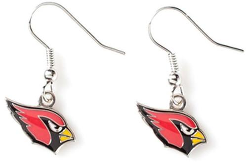 Officially Licensed NFL Team Logo Dangle Earrings - Pick Your Team