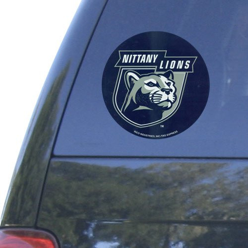Officially Licensed NCAA Football Vinyl Sports Decal Round Choose Your Team
