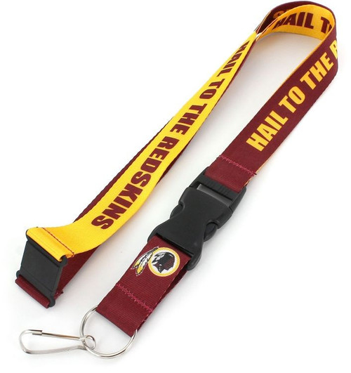 NFL Football Team Logo Slogan Lanyard Pick Your Team