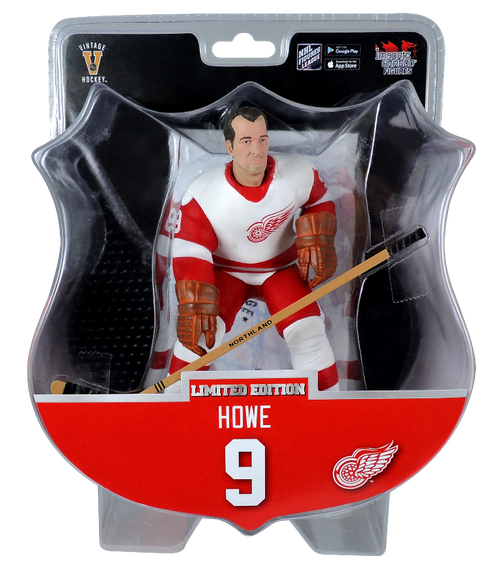 Import Dragon NHL Gordie Howe Detroit Red Wings ALUMNI Limited Edition to 7800