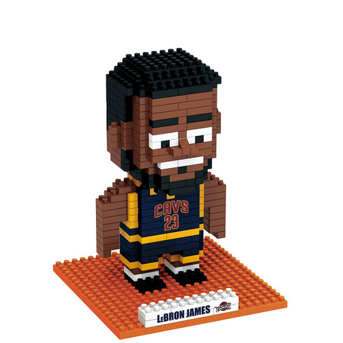 BRXLZ 3-D Construction Toy LEBron James Cleveland Cavilers 332 Pieces