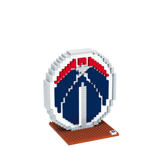 BRXLZ Team Logo 3-D Construction Toy Washington Wizards 679 Pieces