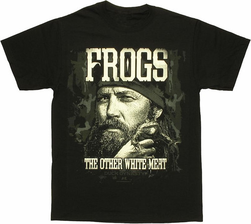 Duck Dynasty - Frogs The Other White Meat T-Shirt (Medium)