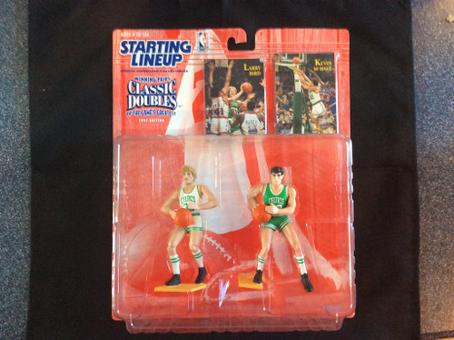 Starting Lineup Classing Doubles 1997 Edition Bird/McHale Boston Celtics