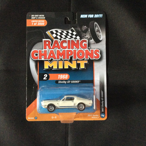 Racing Champions Mint RC005 Series 3 Version B 1968 Shelby GT 500KR