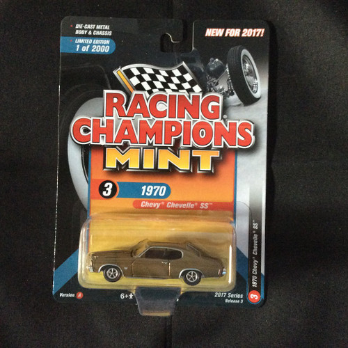 Racing Champions Mint RC005 Series 3 Version A 1970 Chevy Chevelle SS