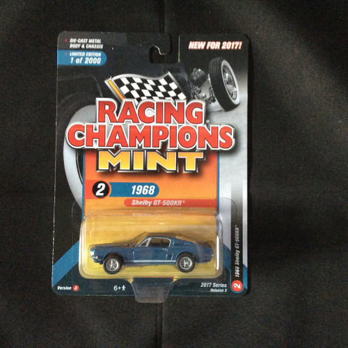 Racing Champions Mint RC005 Series 3 Version A 1968 Shelby GT 500KR