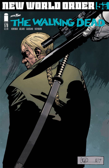 IMAGE COMICS: WALKING DEAD #179 COVER A ADLARD & STEWART