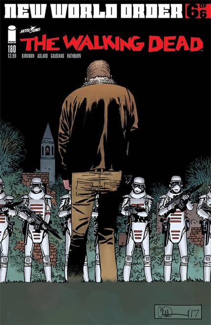 IMAGE COMICS: WALKING DEAD #180 COVER A ADARD & STEWARD