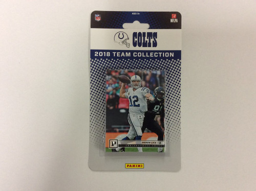 2018 Panini Factory Sealed Team Set - 10 Cards - Indianapolis Colts