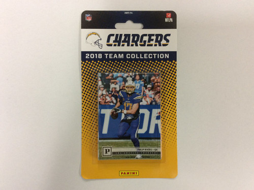 2018 Panini Factory Sealed Team Set - 12 Cards - Loss Angeles Chargers