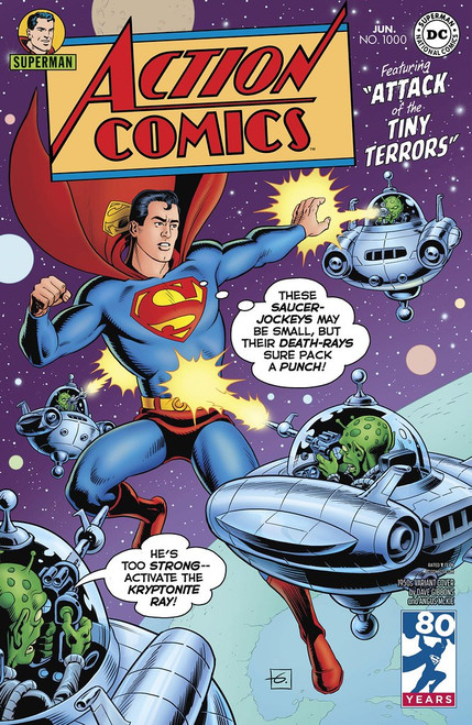 DC COMICS: ACTION COMICS #1000 1950s VARIANT