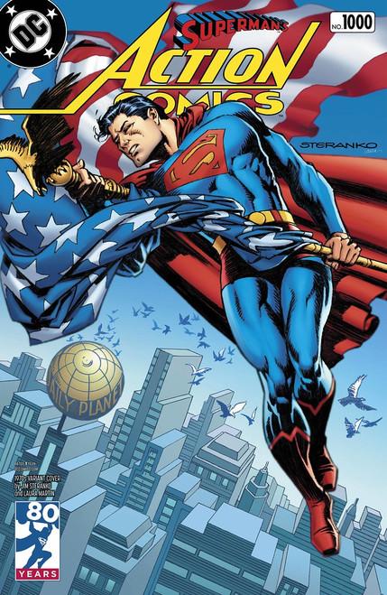 DC COMICS: ACTION COMICS #1000 1970s VARIANT