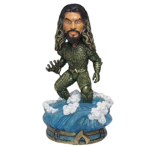 FOCO DC Comics Justice League Character Bobble, Aquaman 8""