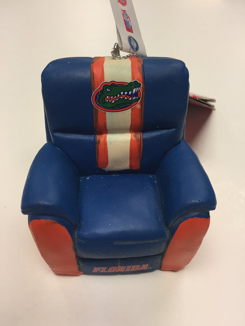 NCAA Team Reclining Chair Ornament Choose Your Team