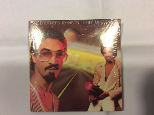 1980 Chu Bops SEALED #10 The Brothers Johnson Light up the Night