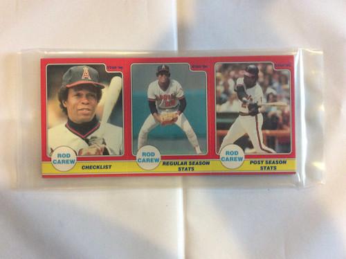 1986 Star Company Rod Carew Panel 24 Card Set SEALED ANGELS