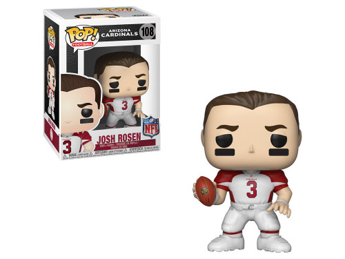 Funko POP: NFL Josh Rosen Arizona Cardinals #108 White Jersey