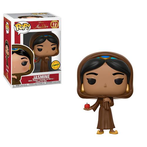 Funko POP! Disney: Aladdin Jasmine 477 Chase with Apple