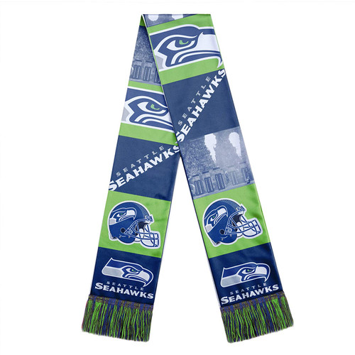 Officially Licensed NFL Bar Design Printed Scarf Choose Your Team