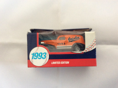 Matchbox 1993 Chevy Sedan Baltimore Orioles Limited Editiion 1:64 Scale