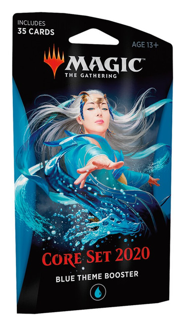 Magic The Gathering: Core 2020 Blue Theme Booster