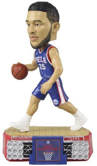 NBA Stadium Lights Bobble Head Ben Simmons Philadelphia 76ers