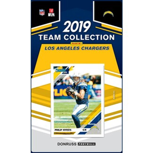 2019 Donruss Factory Sealed Team Set Los Angeles Chargers
