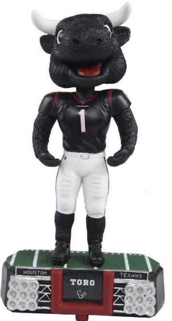 NFL Stadium Lights Bobble Head Mascot Houston Texans (TORO)