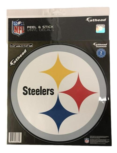 """Pittsburgh Steelers Logo Teammate 11.5"""" x 11.5"""""""