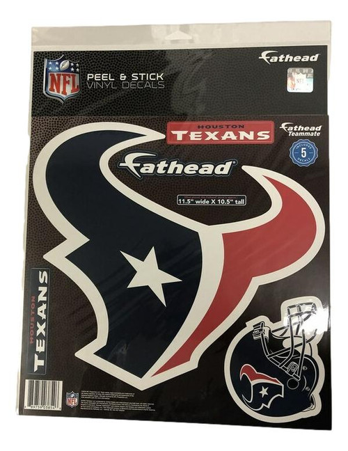 Teammate - Houston Texans Logo with small helmet
