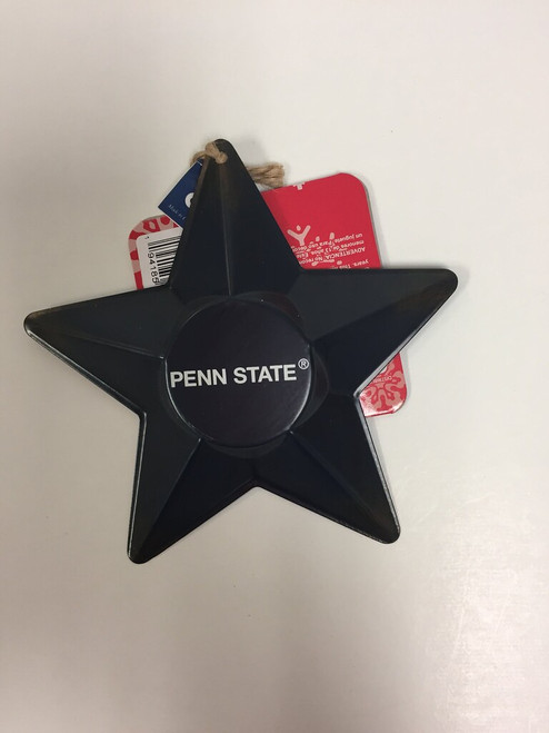 NCAA Team 3D Metal Star Ornament Choose Your Team