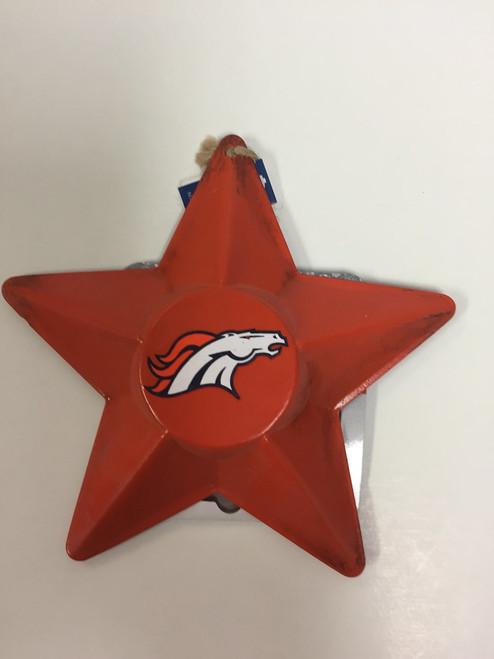 NFL Team 3D Metal Star Ornament Choose Your Team