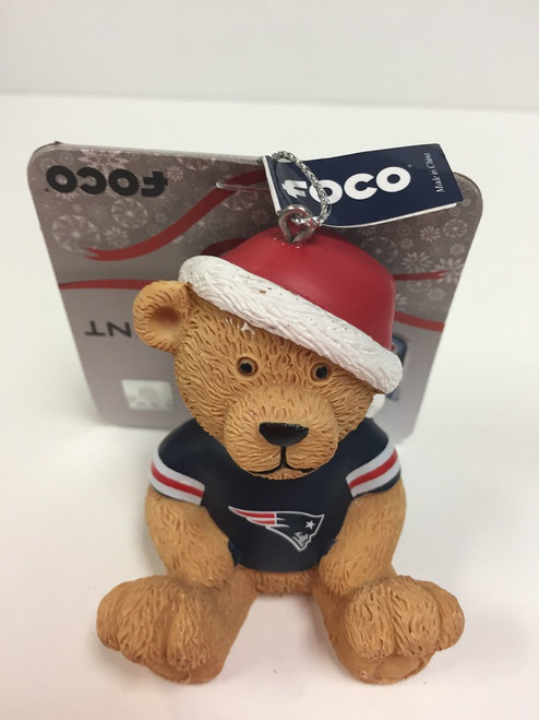 NFL Team Jersey Bear Ornament Choose Your Team