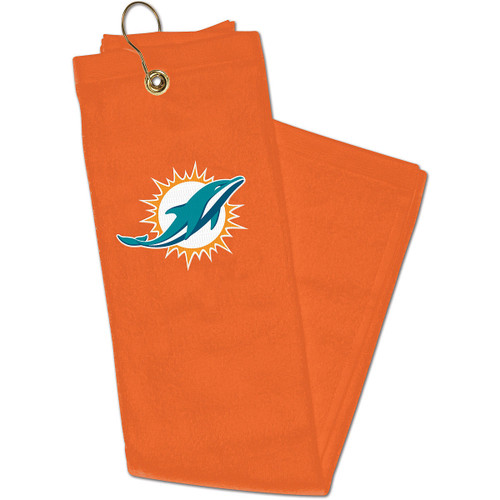 """NFL Officially Licensed 16""""x22"""" Embroidered Golf Towel Choose Your Team"""