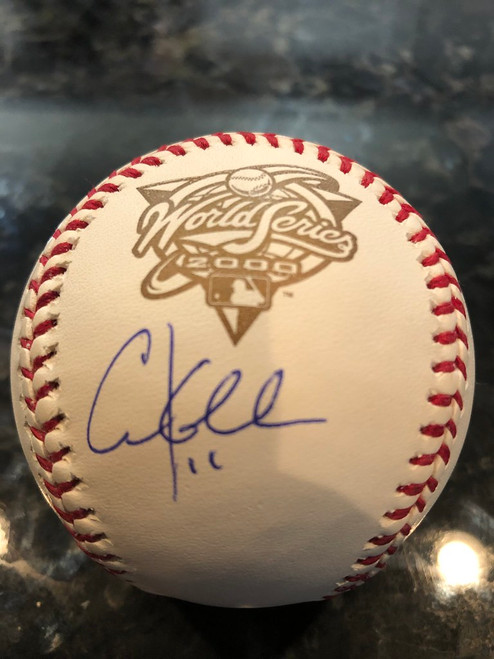Chuck Knoblauch Autographed Baseball Rawlings Tristar COA World Series 2000 Ball