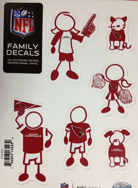 NFL Family Decals Auto Car Stickers - Choose Your Team