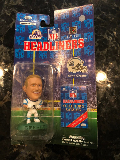 1997 NFL Headliners Kevin Greene Carolina Panthers