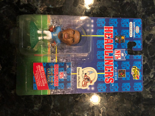 1996 NFL Headliners Steve McNair Houston Oilers