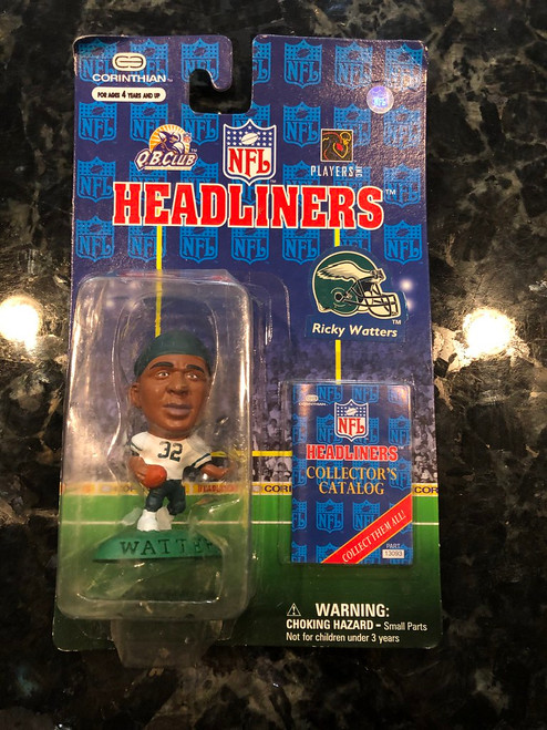 1997 NFL Headliners Ricky Watters Philadelphia Eagles